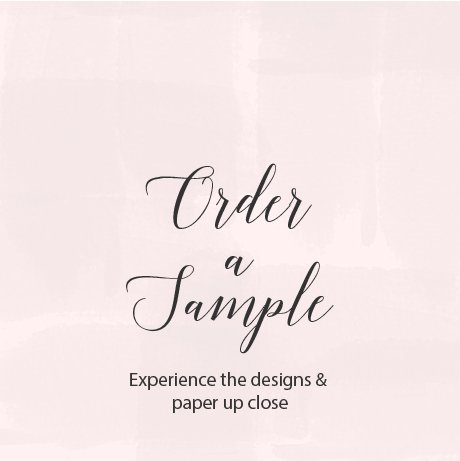Order a Sample from Flamboyant Invites Occasion Paperie