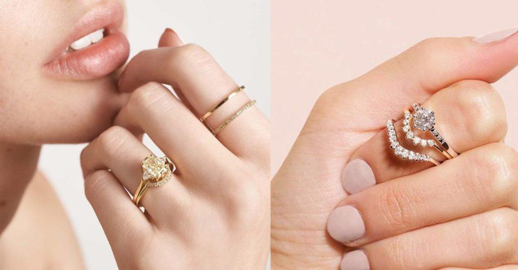 Stacking Wedding Ring Trend