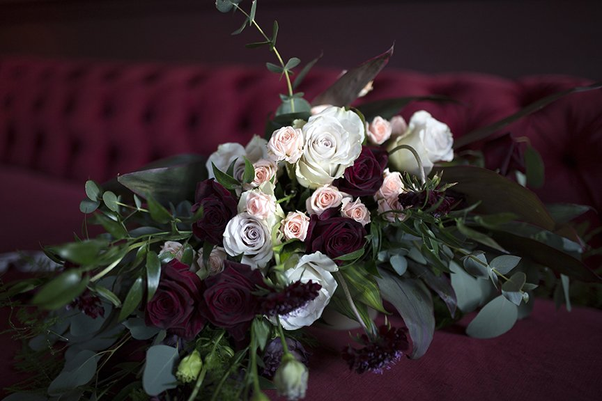 Winter Bridal Bouquet | Wedding Inspiration | Flamboyant Invites
