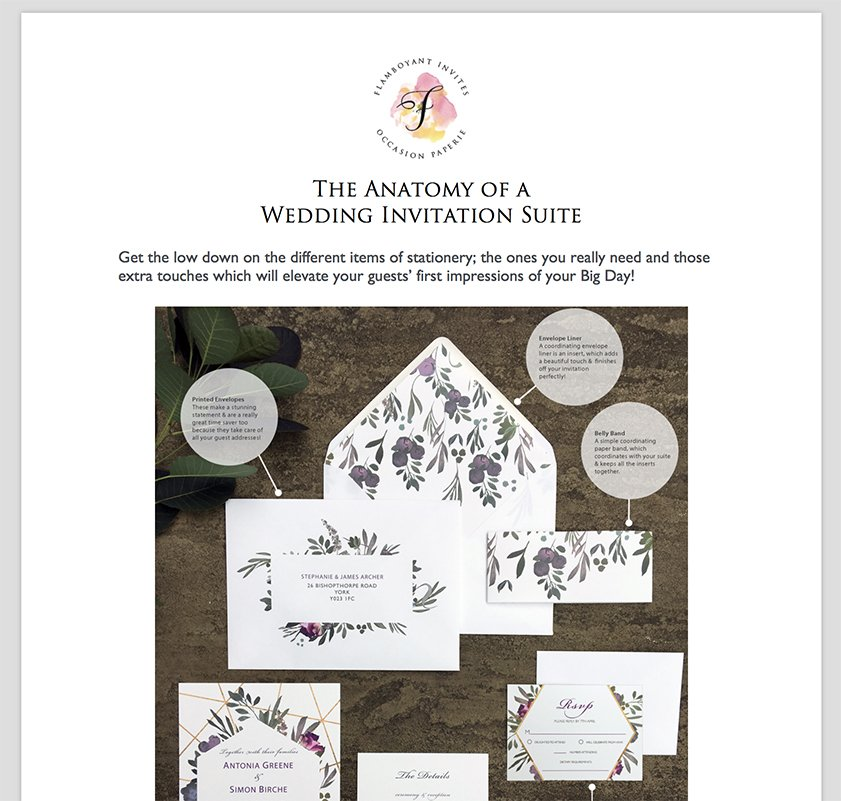 Free Wedding Stationery Guide, wedding stationery tips, wedding stationery etiquette, wedding stationery items, wedding stationery suite
