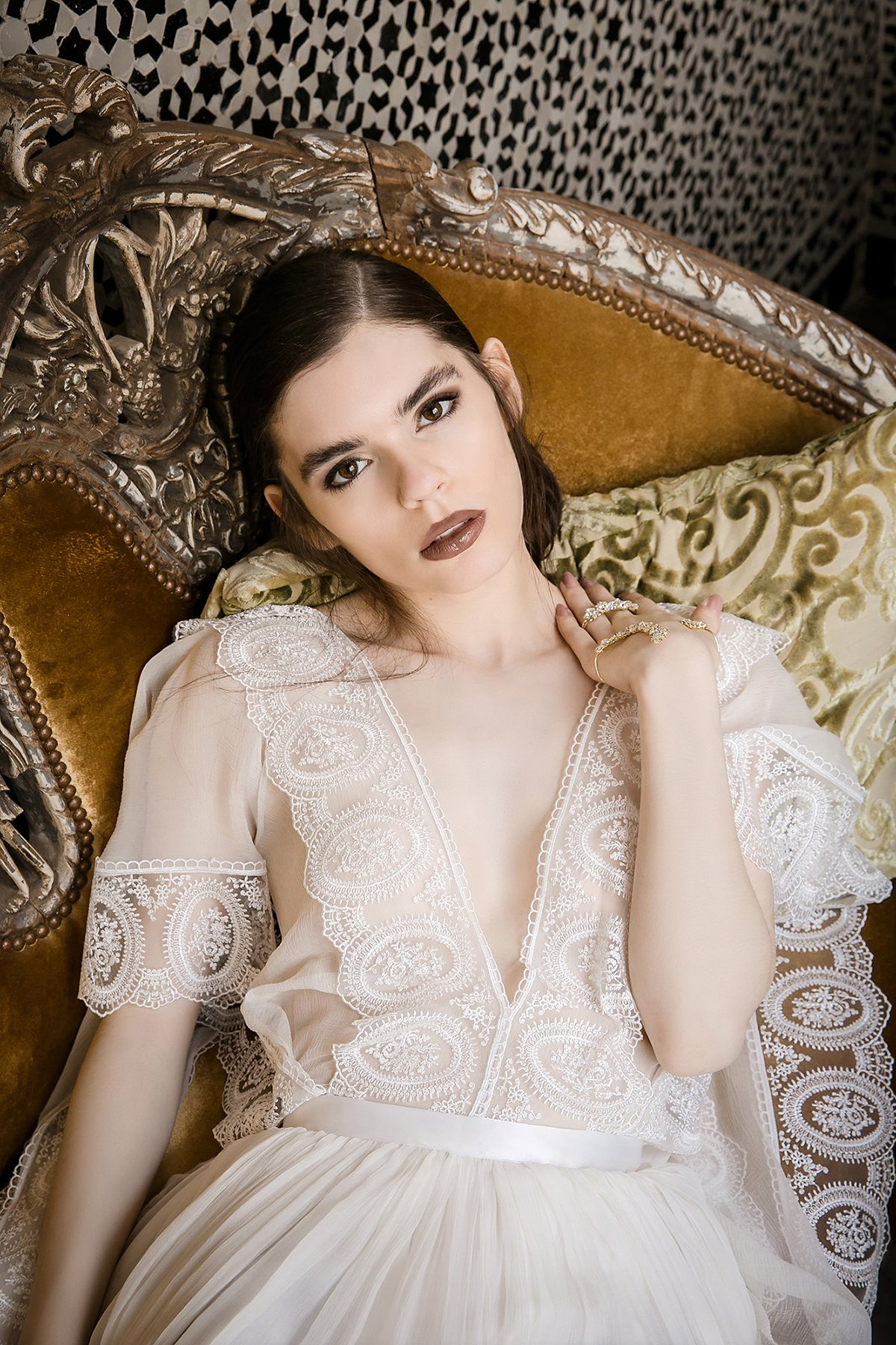 Marrakesh Photo Shoot Collaboration with Bridal Wear Designer Eva Poleschinski