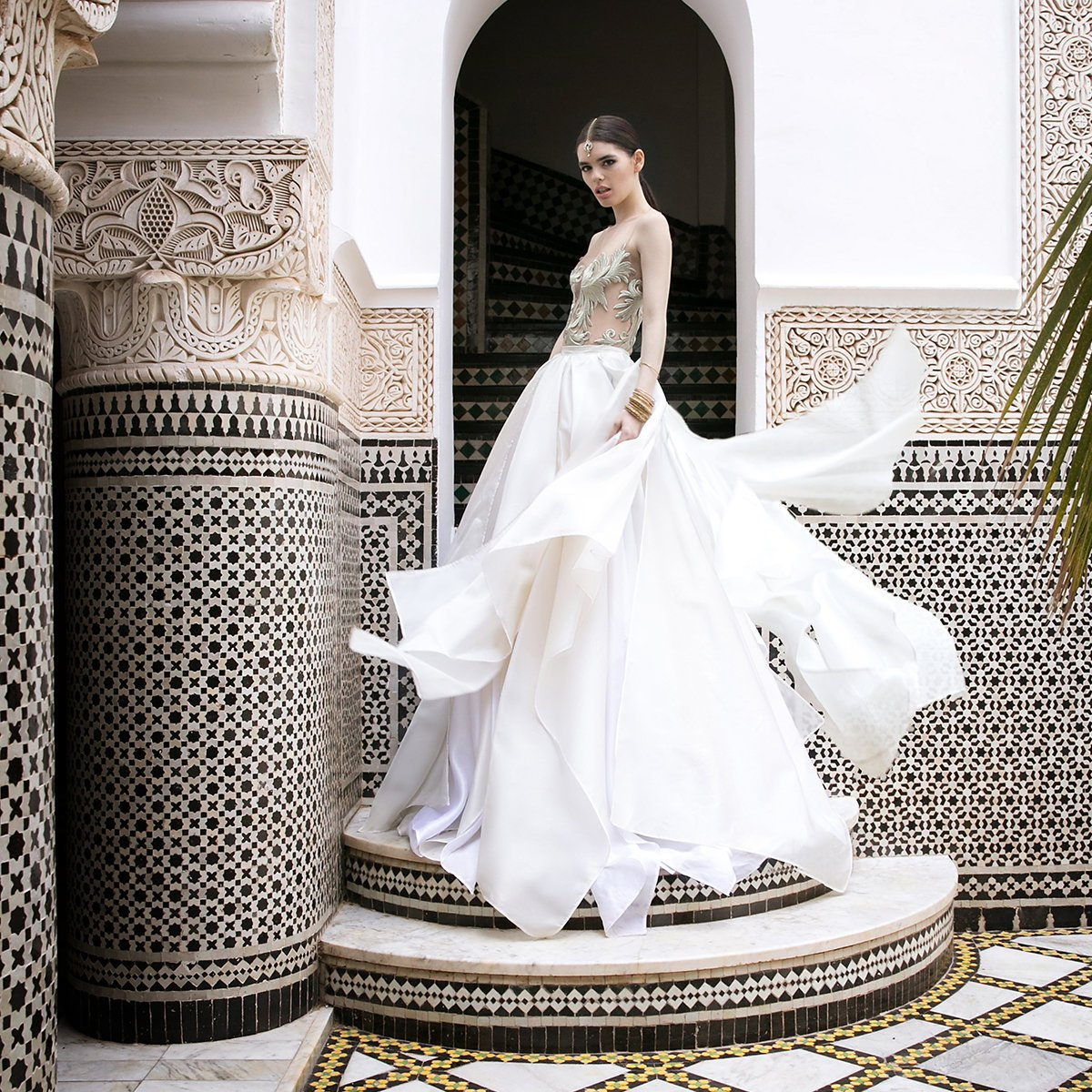 Moroccan Styled Shoot Collaboration - Flamboyant Invites
