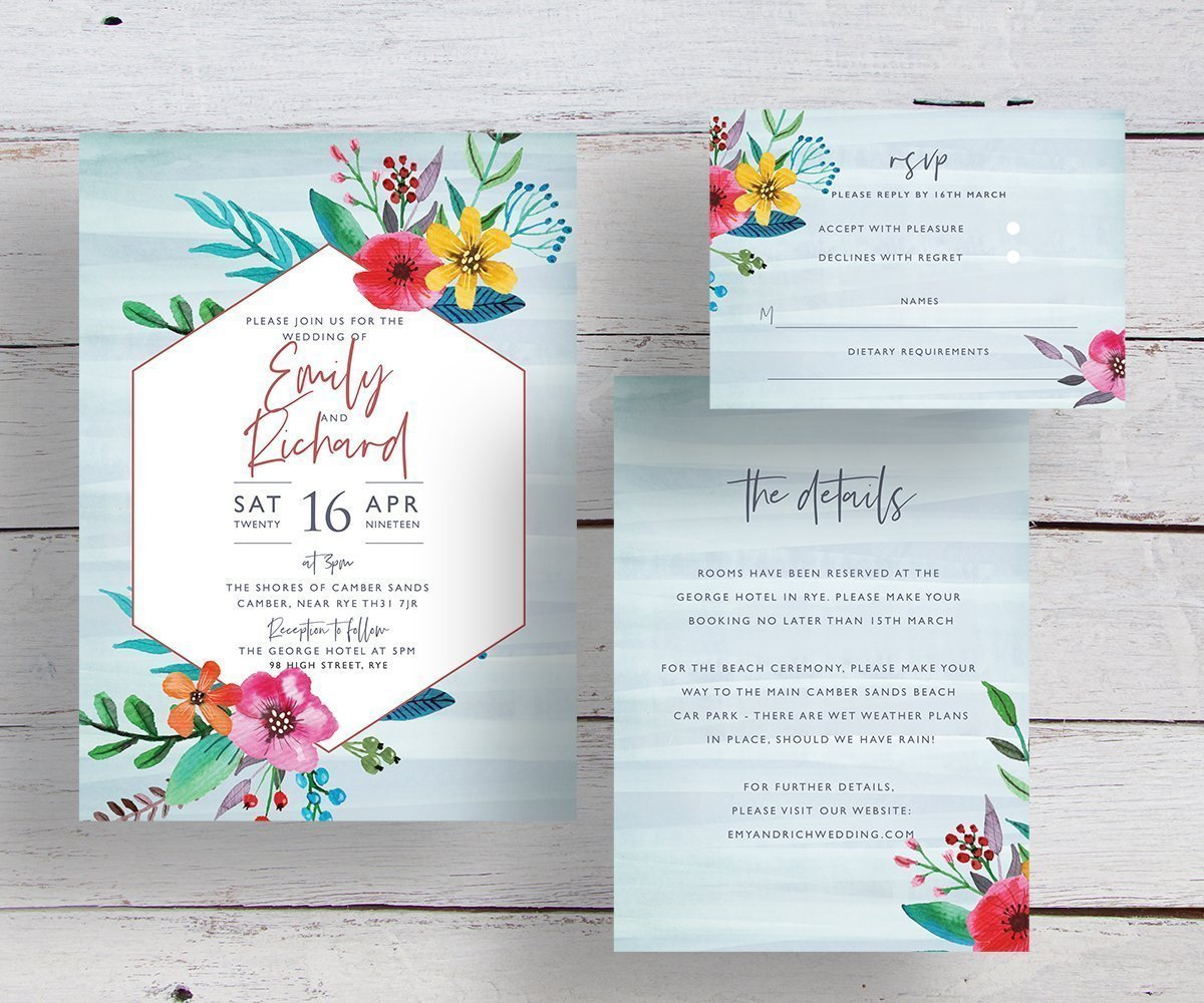 Wedding Invitation Thoughts