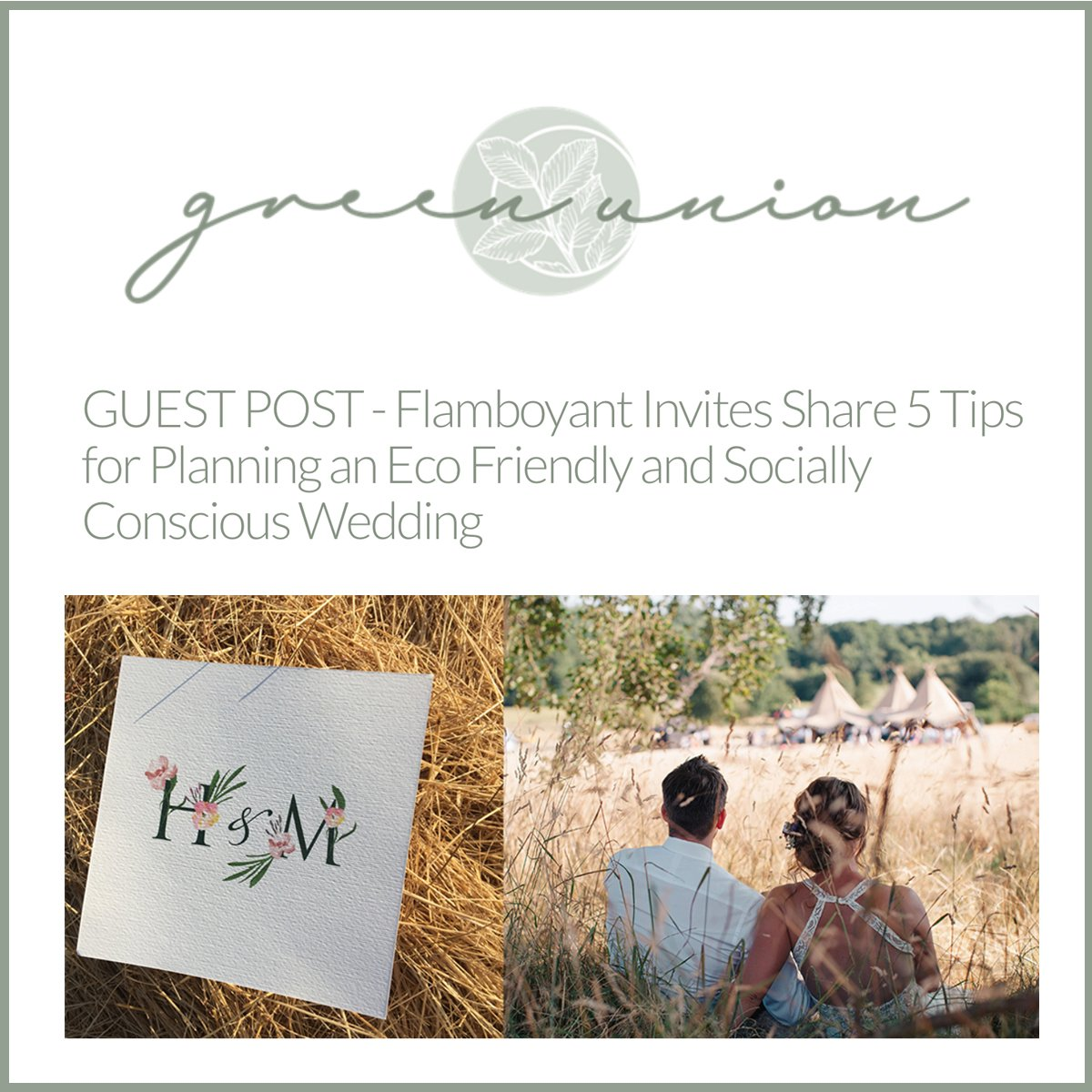 Surrey Wedding Stationery Design Tips on Creating a Stand Out Wedding that Makes a Difference Too