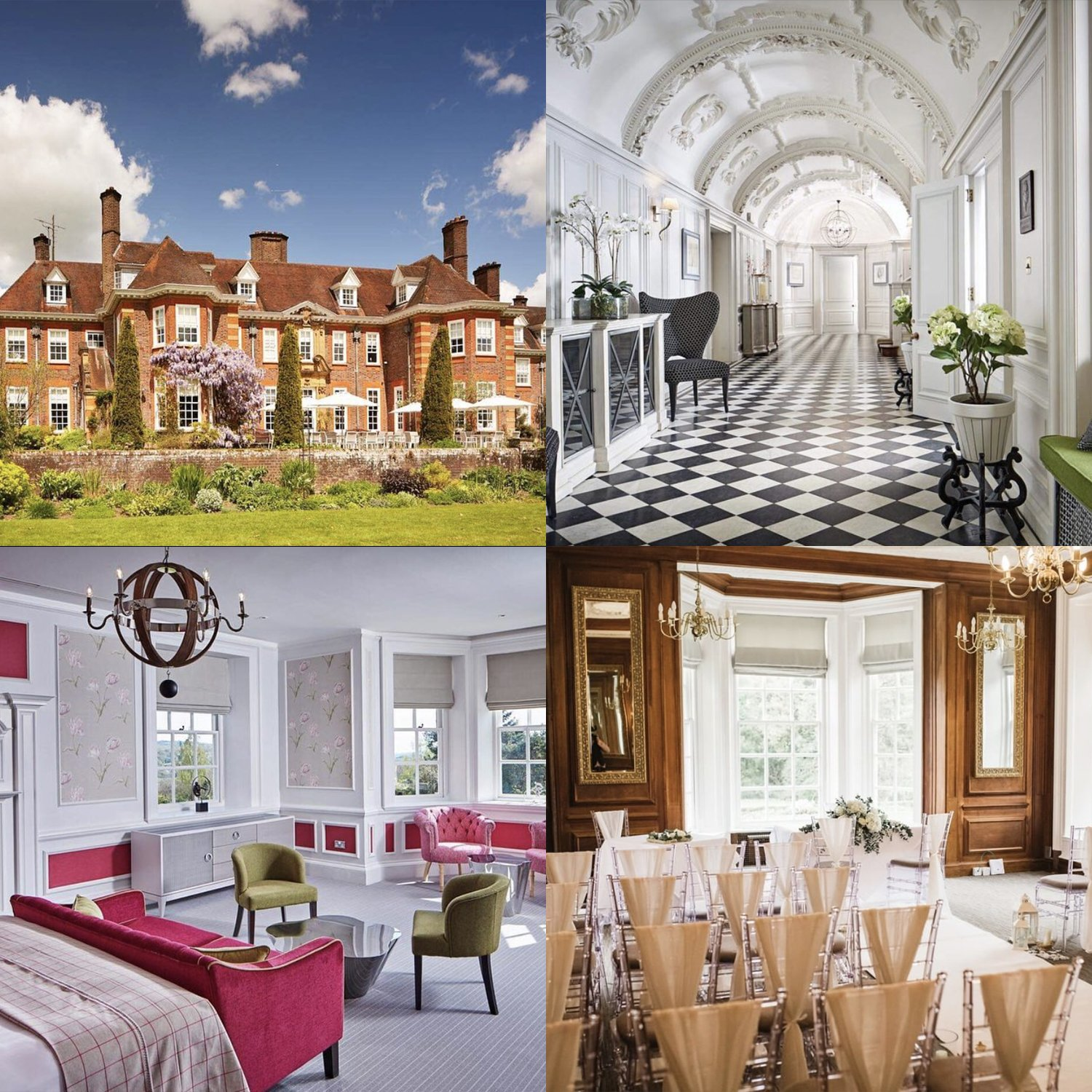Barnett Hill Hotel Surrey Wedding Venue | wedding stationery Surrey, Flamboyant Invites