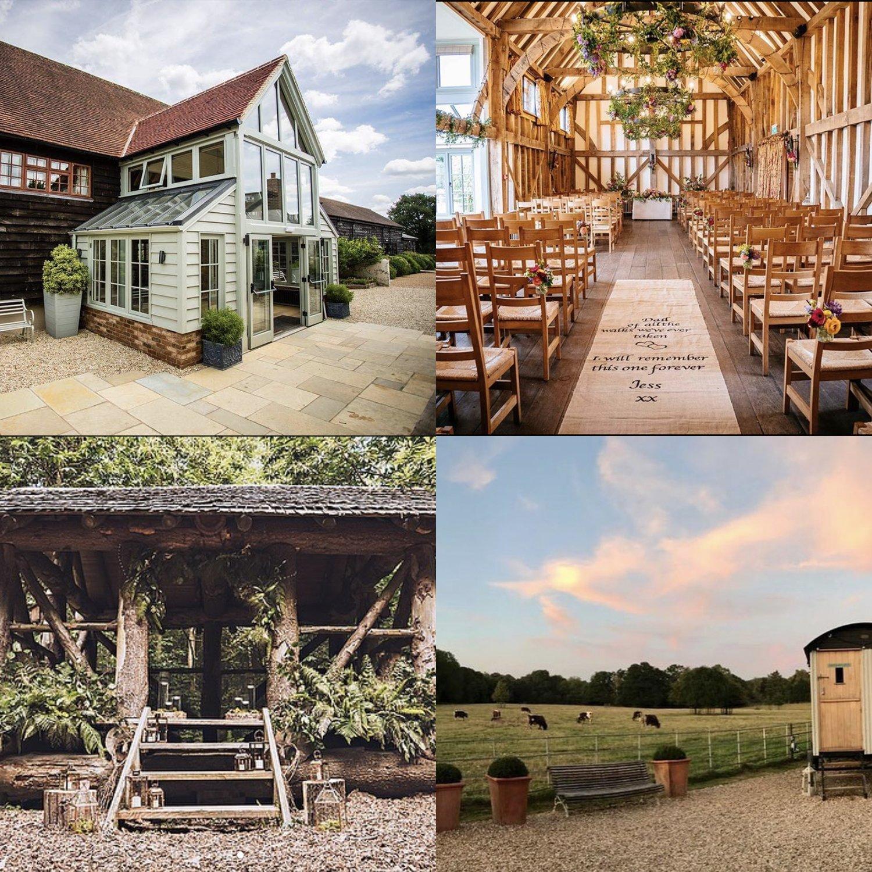 Gate Street Barn Surrey Wedding Venue | wedding stationery Surrey, Flamboyant Invites