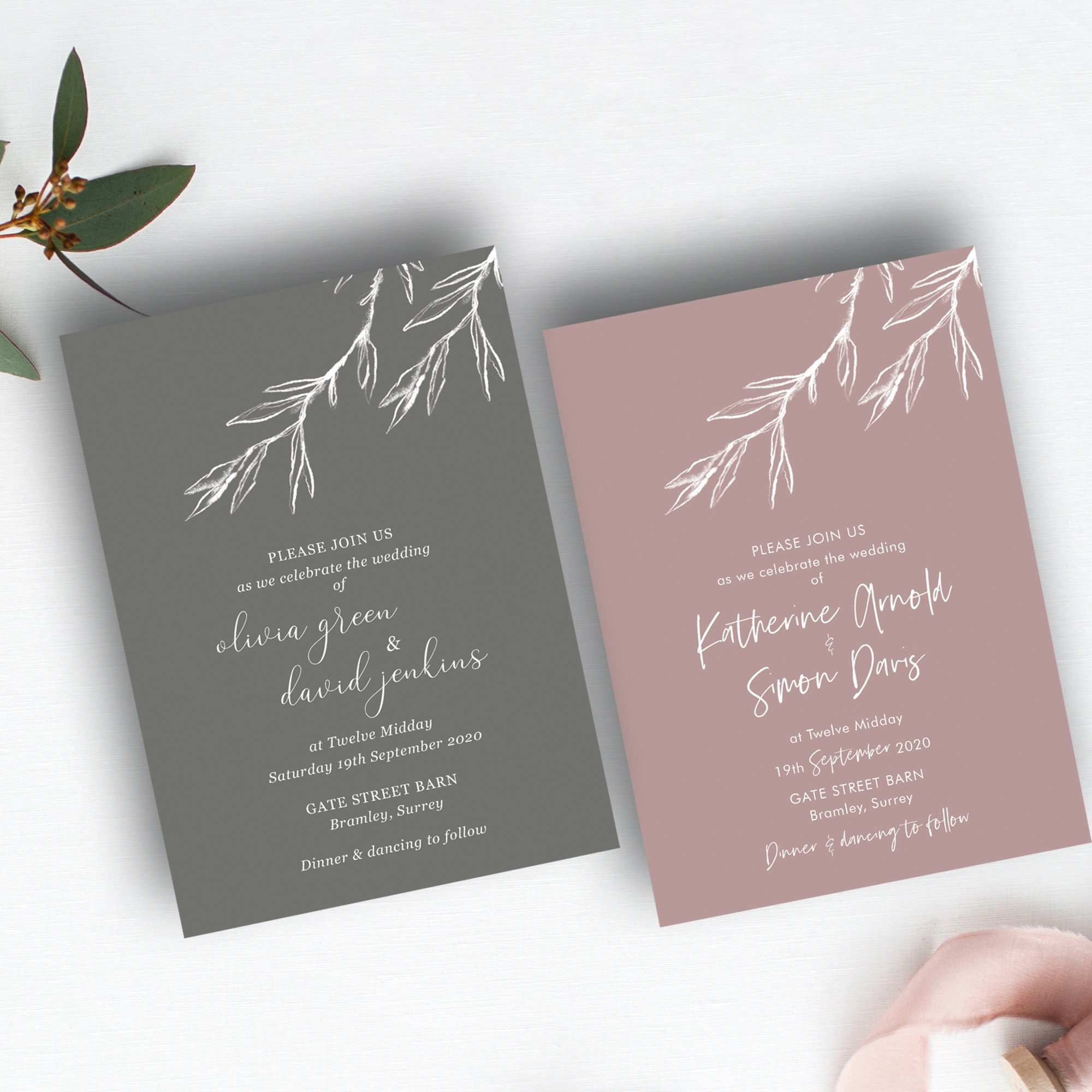 Modern wedding invite trends | your stationery your way by Flamboyant Invites