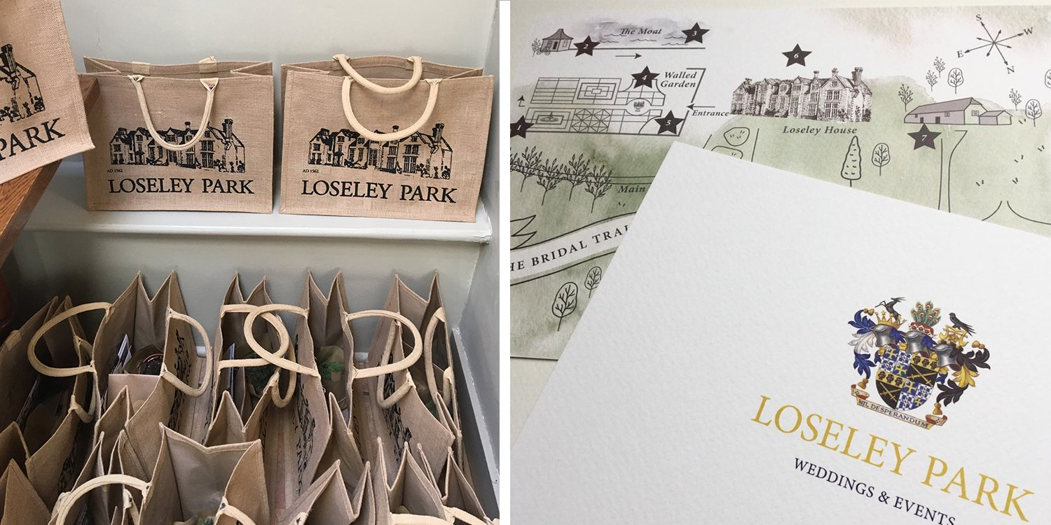 Loseley ParK Wedding Open Day Supplier, Flamboyant Invites