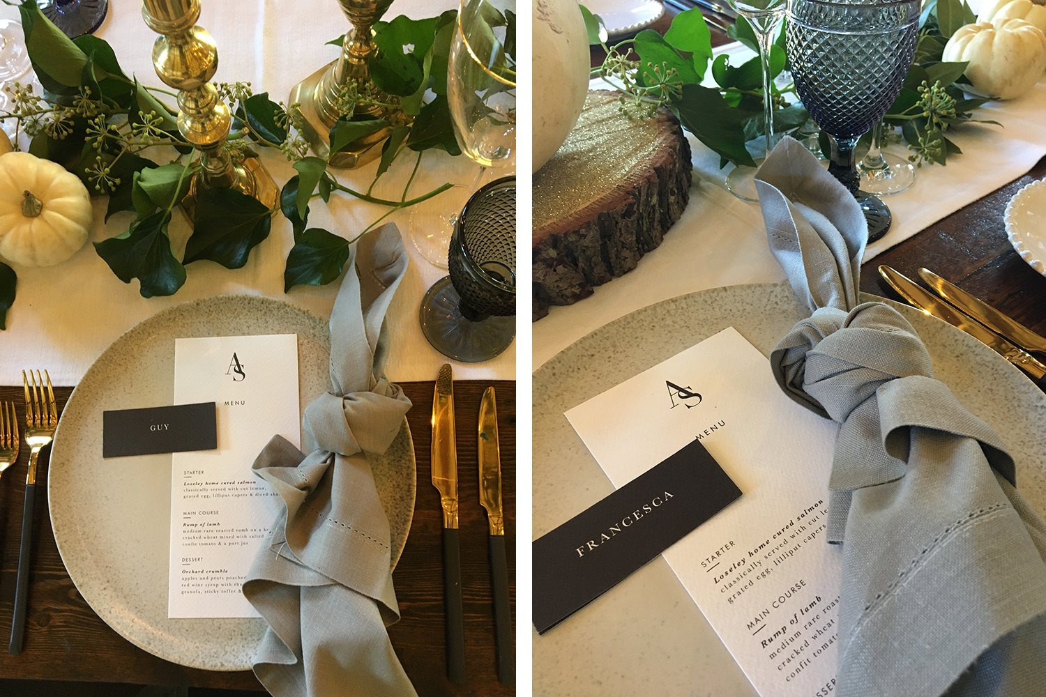 Flamboyant Invites On the Day Stationery, Loseley ParK