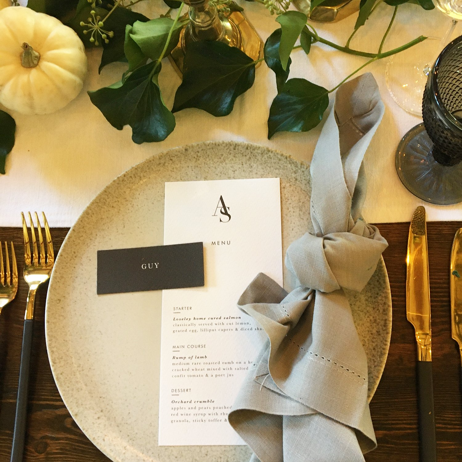 Flamboyant Invites Wedding Stationery Supplier, Loseley Park Surrey