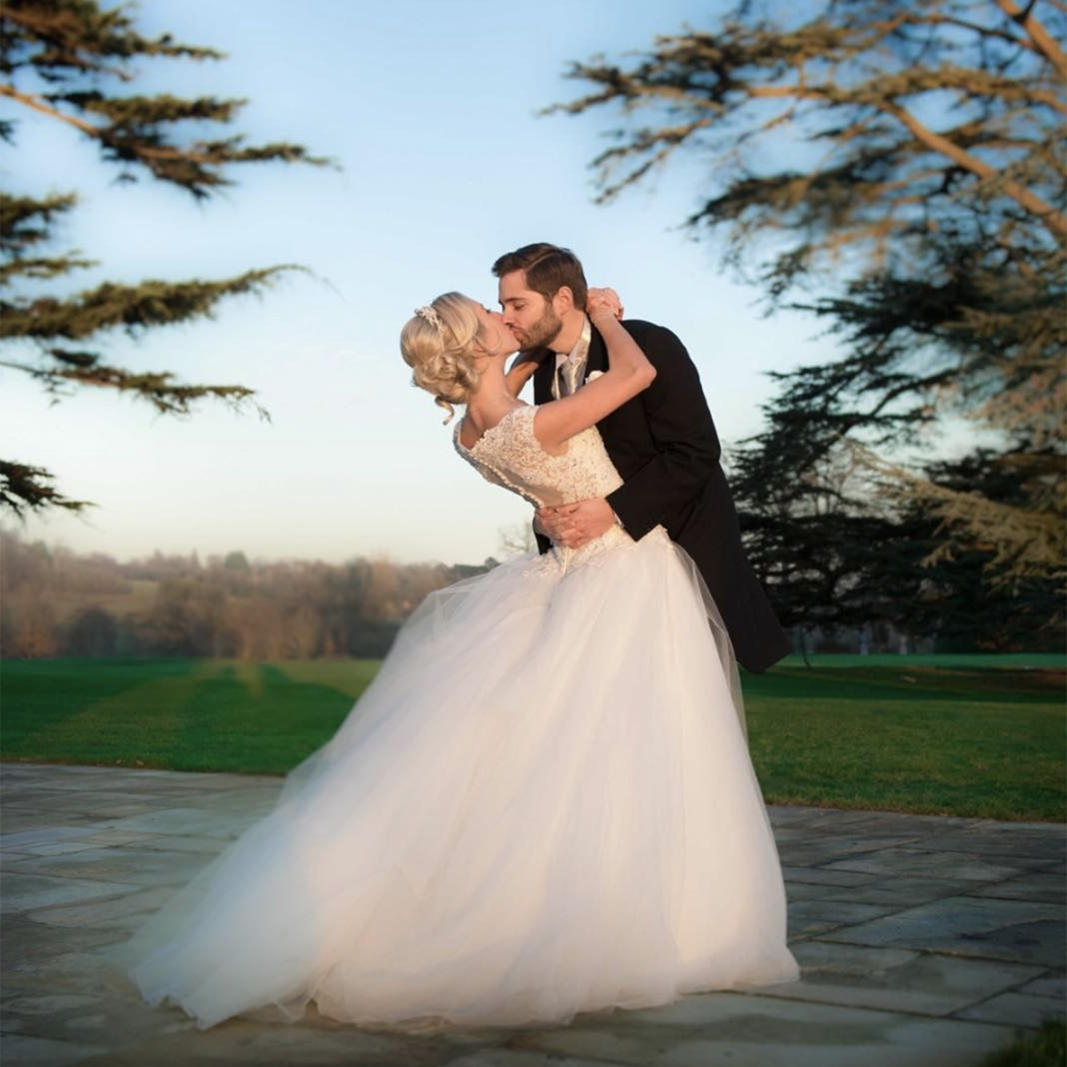 Laurence and Ella Photography at Loseley Park