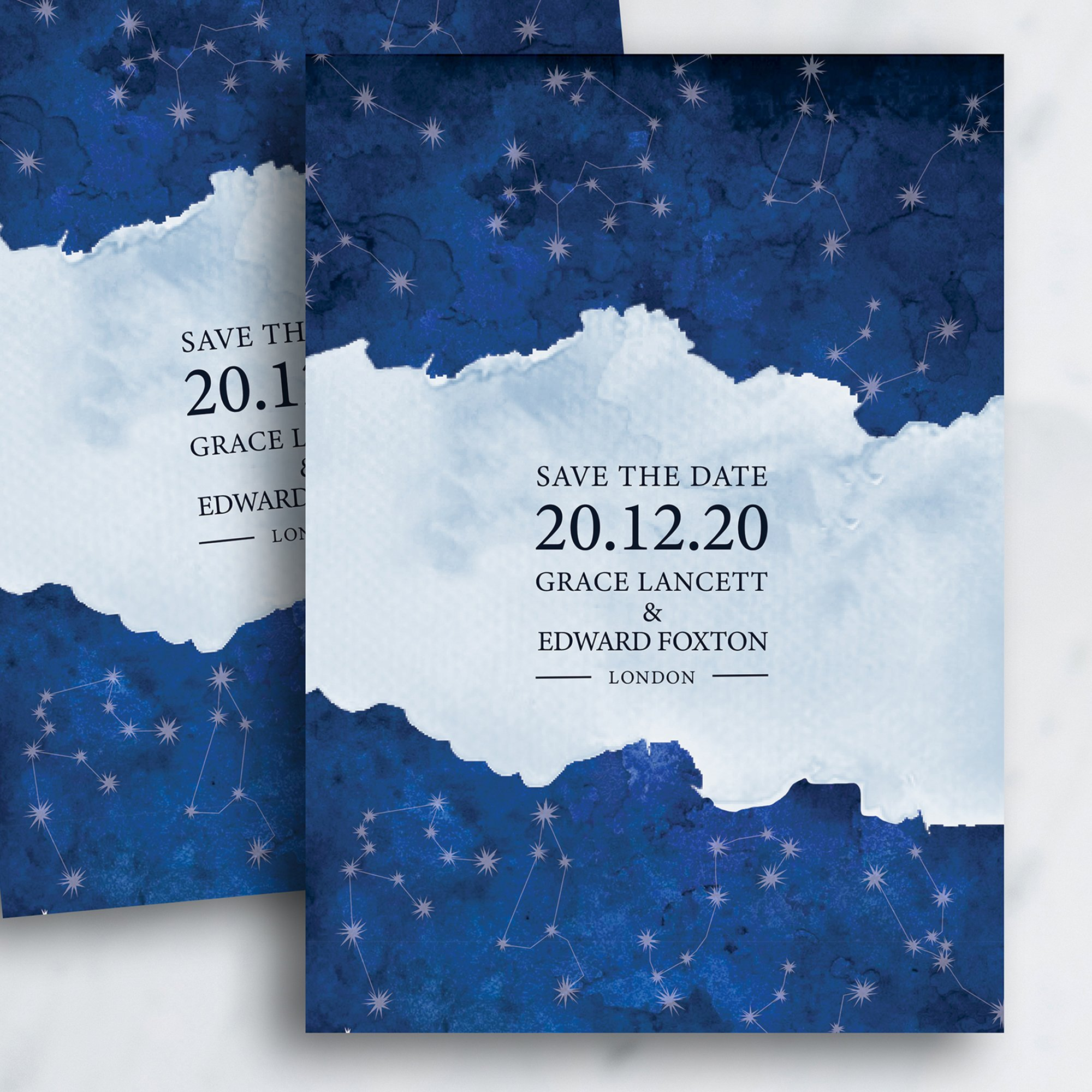 Written in the Stars Save the Date | Flamboyant Invites