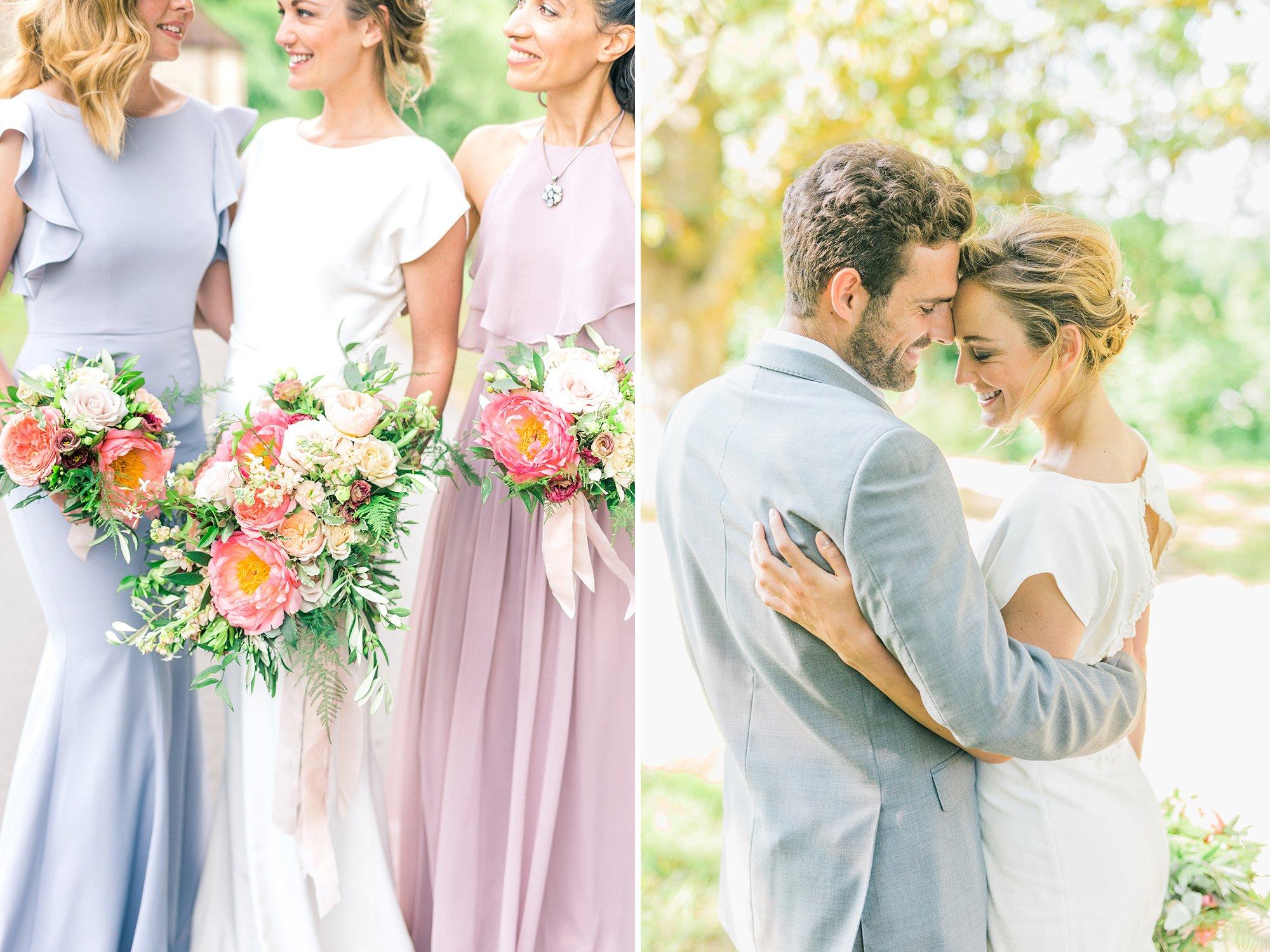 Summer Wedding Bridal Inspiration   Flamboyant Invites
