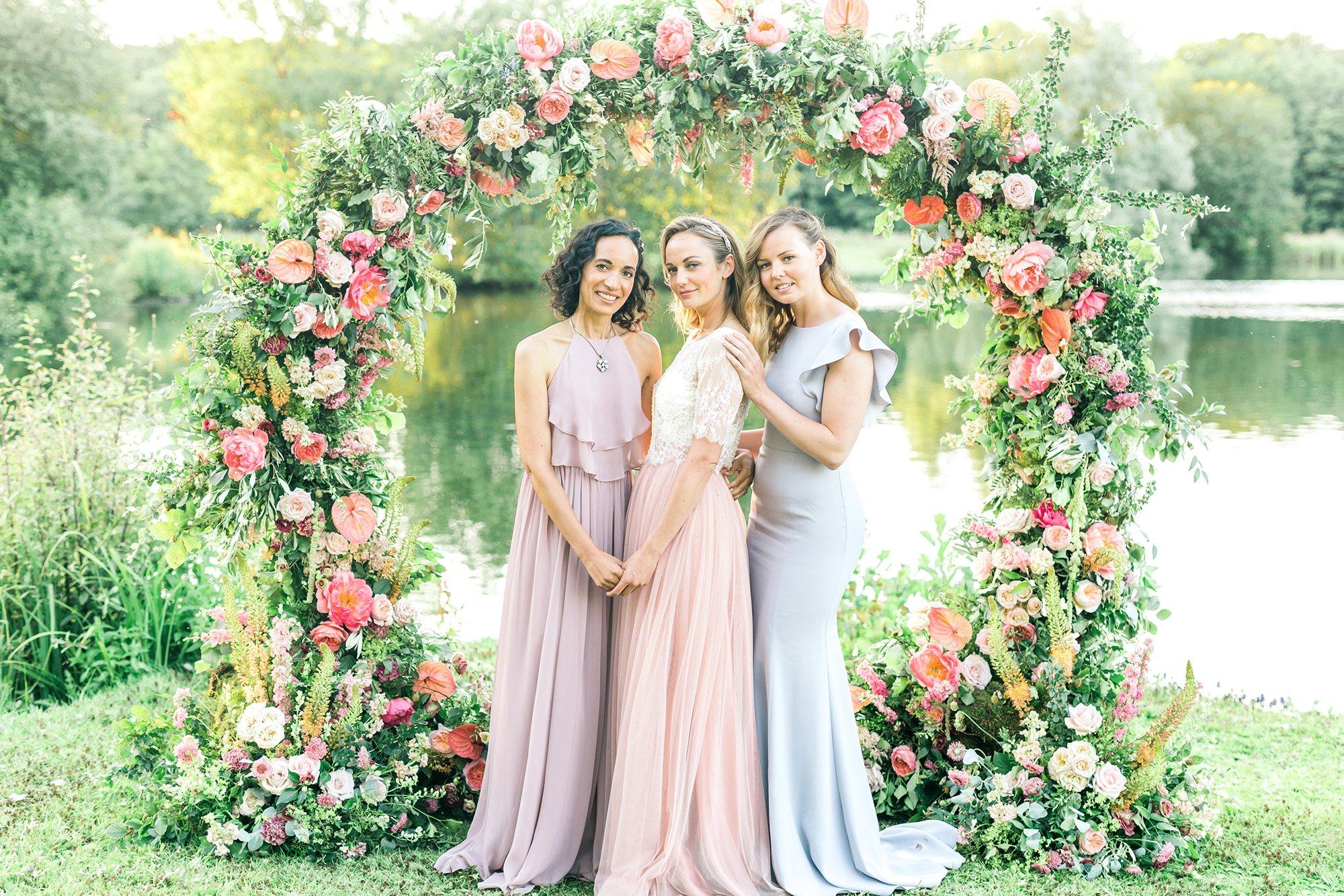 Outdoor Summer Wedding Inspiration, Flamboyant Invites