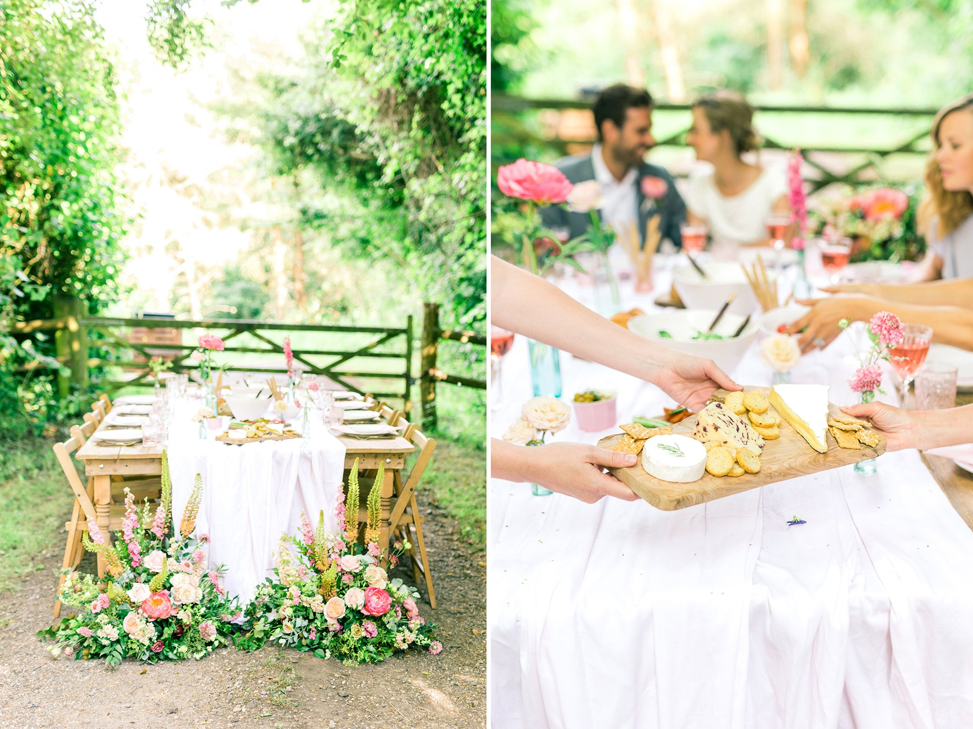 Summer Wedding Tablescape Inspiration | Flamboyant Invites