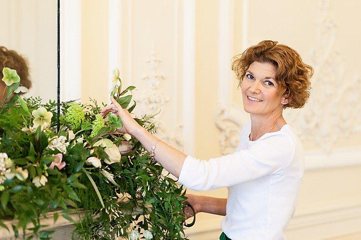 Surrey Wedding Florist Johanna Pedrick Flowers, Flamboyant Invites