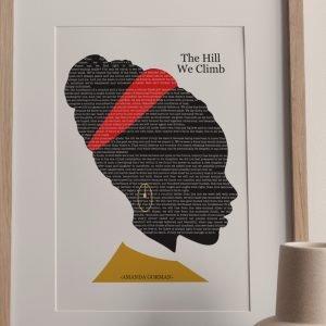 Amanda Goreman Fine Art Poetry Print