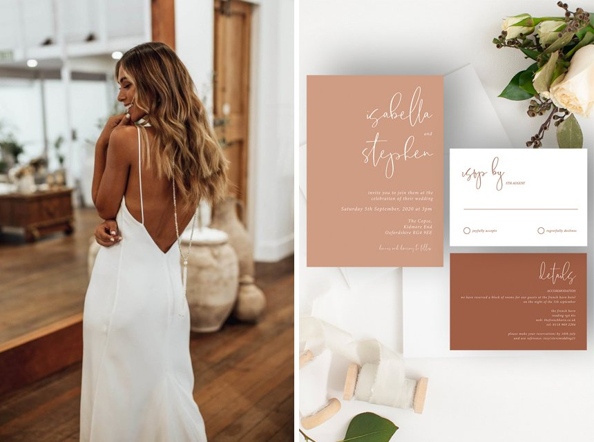 Modern Wedding Stationery Inspiration | Flamboyant Invites