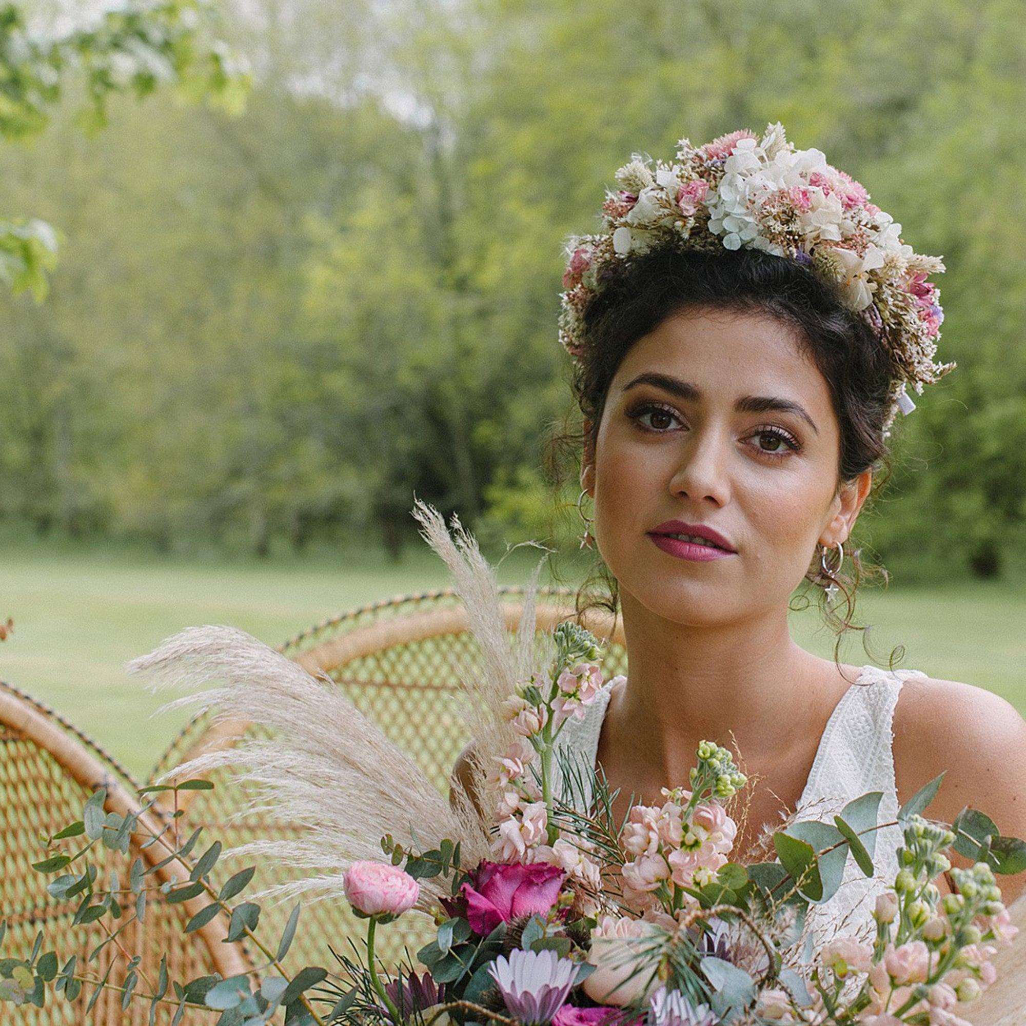 Pampas Grass Wedding ideas | Flamboyant Invites