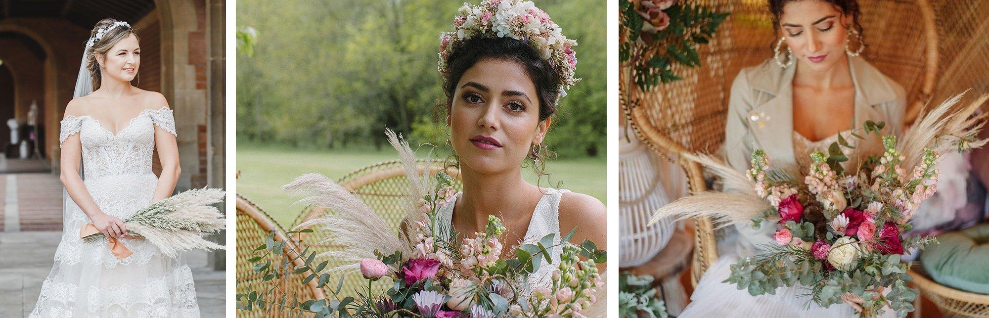 Stunning Pampas Grass Bouquets | Flamboyant Invites