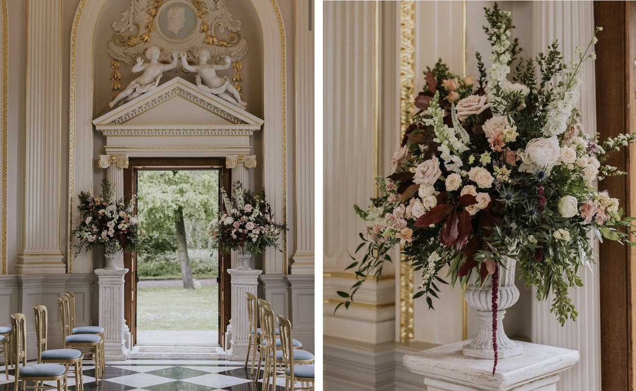 Wedding Ceremony Flower Inspiration | Flamboyant Invites