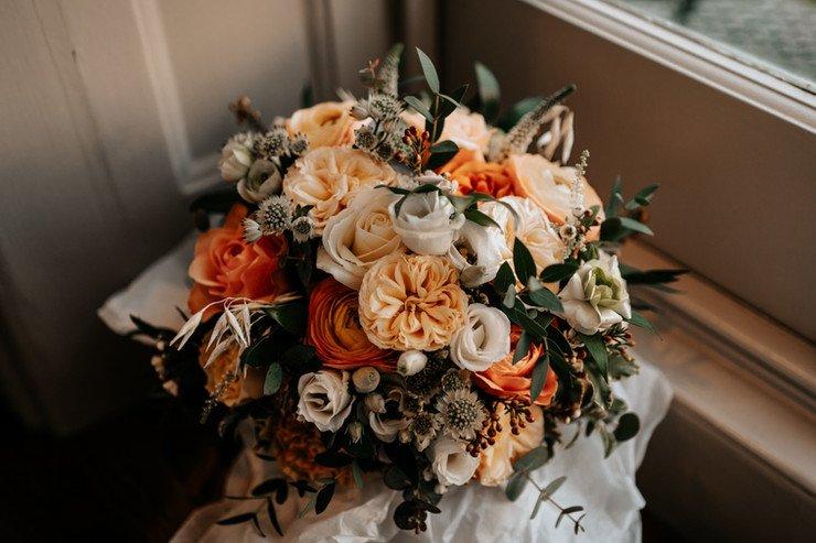 Winter Wedding Bridal Bouquet Inspiration | Flamboyant Invites