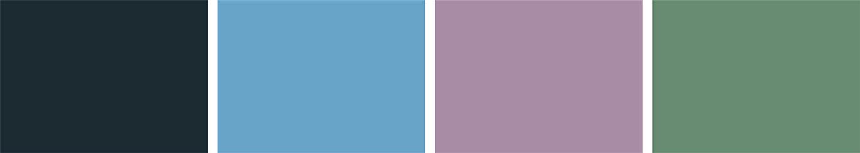 Dusty Blue and Blush Autumn Wedding Inspiration | Flamboyant Invites